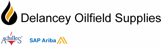 Delancey Oilfield Supplies. Supplying only original and genuine brand quality products, premium service. Logo